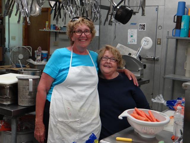 Chef Donna and her assistant